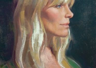 Portret de femeie tanara, portrete cu femei, portrete la comanda, portret de femeie blonda