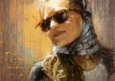 Portret de femeie tanara, portrete cu femei, portrete la comanda, portrete abstracte, portrete moderne, portrete cu mesaje