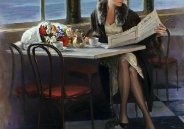 Portret de femeie. Portrete figurative. Portret la comanda personalizat.