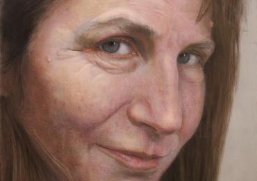 Portret de mama dupa fotografie, Tablouri pictate manual, Portret dimensiune mare pentru living, portret de dimensiuni foarte mari, portrete fizionomice