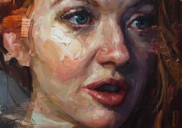 Portret dimensiune mare, tablou pentru sufragerie, Idei cadouri potrivite pentru ea, portrete la comanda, Tablou pictat pe panza, portret de femeie