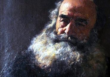 Portret dupa fotografie, Tablouri pictate manual, Tablou cu portret in cutit, Tablouri pictate in ulei,  Picturi tablouri la comanda, portret.