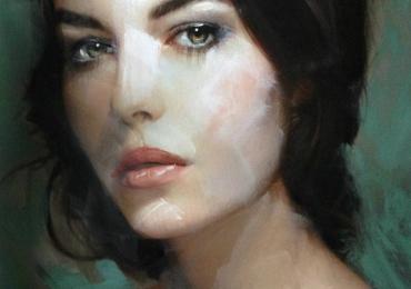 Portret impresionist la comanda, cadou zi de nastere. Portret Profil pictat