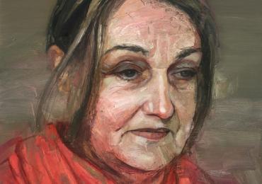 Portret la comanda, cadou zi de nastere pentru mame. Portret pictat manual