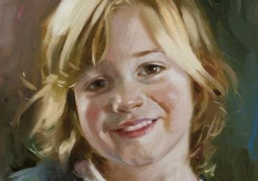 Portret la comanda, pictat manual, pictura cu portret la comanda