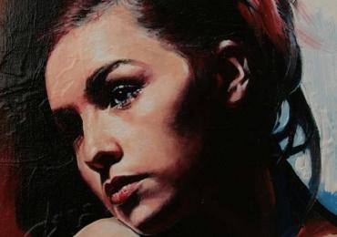 Portret la comanda, pictat manual, portret bust pret manopera pictura in ulei