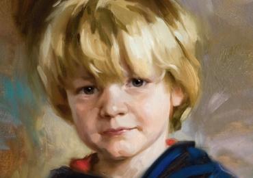 Portret original. portrete cu copii, portret pictat la comanda, portrete bust, portret dupa fotografie, portret de copil dupa poza