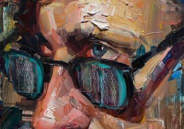 Portret pictat manual, Portret dimensiune mare pentru living, portret de dimensiuni foarte mari, portrete fizionomice