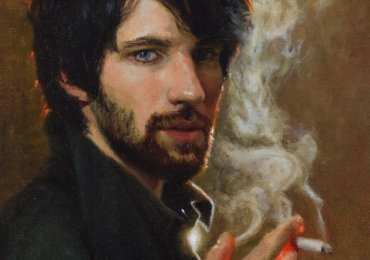 Portret, pictura tablou la comanda, fidel, Tablouri pictate manual, portret de barbat
