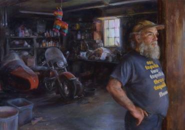 Portrete cu bunici, tablouri pictate manual dupa poza. Pret manopera pictura
