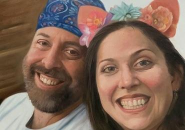 Portrete cupluri, portret cuplu pictura ulei, tablouri cu cupluri, portrete haioase, idei de cadou pentru cupluri de indragostiti, tablou pentru casa naoua