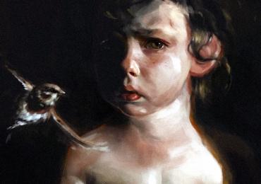Portrete de baietel la comanda, pret manopera pictura in ulei pe panza