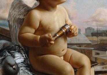Portrete de copilas pictat la comanda, portrete de copii, pret manopera pictura