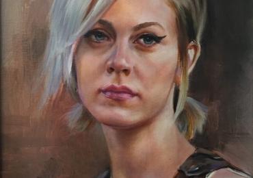 Portrete de femei, pictate manual dupa poza, pret manopera pictura in ulei