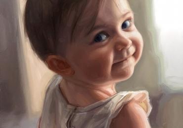 Portrete la comanda dupa fotografii, Tablouri pictate manual, idei de cadouri pentru copilasi