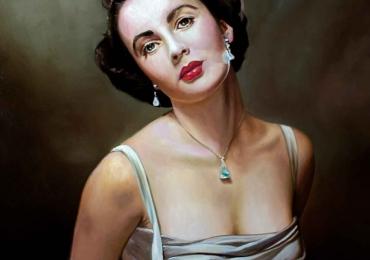 Portrete la comanda dupa poze, Tablouri pictate cu rama sau fara rama, portret de femeie, portrete cu actrite celebre.
