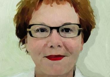 Portrete la comanda pictate in tempera si tus, tehnica media mix, portret de mama