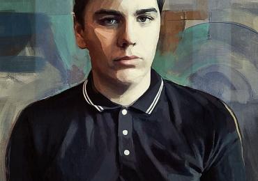 Portrete la comanda pictate in tempera si tus, tehnica media mix. idei de cadouri pentru prieteni