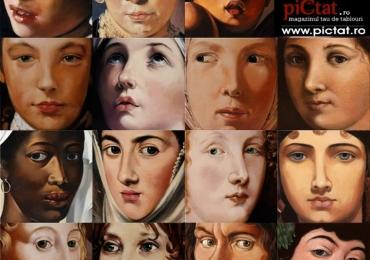 Portrete la comanda pictate manual uleipe panza, portret cap+bust