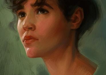 Portrete la comanda, pictura in ulei, Tablouri pictate manual, portret de femeie