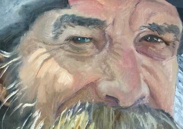 Portrete  pictate manual, Portret dimensiune mare pentru living, portret de dimensiuni foarte mari, portrete barbati