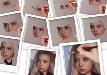 Portrete pictate manual dupa poza, portrete pictate de artist plastic, pret pictura