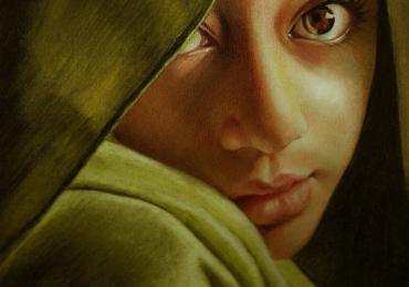 Portrete pictate manual in ulei pe panza, 900 lei pret de manopera