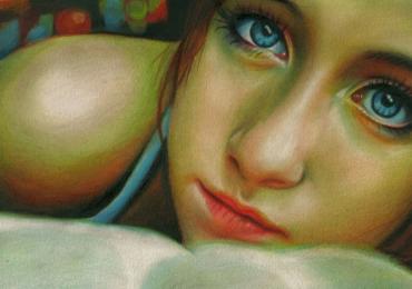 Portrete pictate manual in ulei pe panza. Tablouri cu femei pictate. Pret manopera