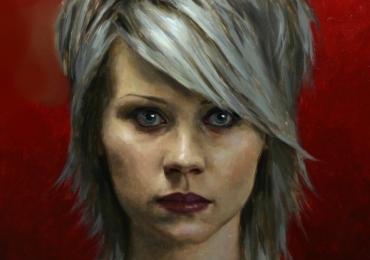 Portrete pictate manual, portret la comanda, idei de cadou pentru prietena