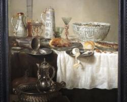 Prunkstillleben 1638, Willem Claeszon Heda, Tablouri cu  natura moarta Realizate la Comanda,