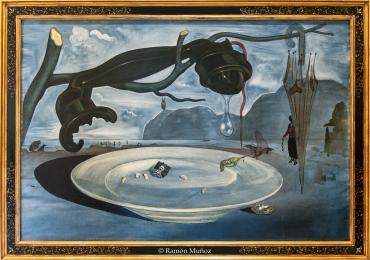 Salvador Dalí El enigma de Hitler, 1939, Tablou natura moarta, tablou natura statica
