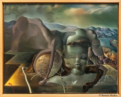 Salvador Dalí El enigma sin fin, 1938, tablou peisaj  abstract, Tablouri Pictori Celebri, Reproduceri Picturi Celebre