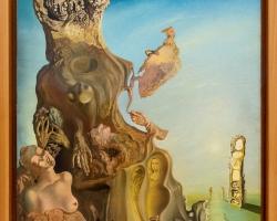 Salvador Dalí, La memoria de la mujer-niña, 1929, tablou peisaj abstract, Tablouri Pictori Celebri, Reproduceri Picturi Celebre
