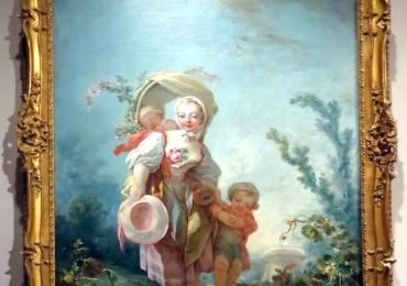 Scenes of Country Life, Jean Honoré Fragonard, tablou peisaj de vara, Tablouri Pictori Celebri, Reproduceri Picturi Celebre