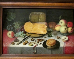 Still Life with Fruit, Nuts and Cheese, Tablouri cu  natura moarta Realizate la Comanda, Reprod