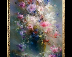 Tablou buchet flori de camp tablou cu flori de munte, tablou floral, Tablou floral, aranjamente  florale pentru ocazii deosebite