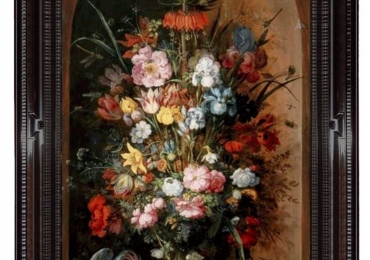 Tablou cu flori de camp, Buchet de flori, tablou cu flori in vaza, tablou floral