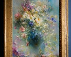 Tablou cu flori de camp, tablou cu flori de munte, tablou cu buchet de flori, Tablou floral, aranjamente  florale pentru ocazii deosebite