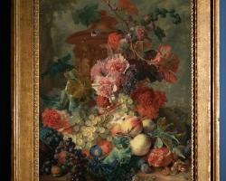 Tablou cu flori pictura Flamanda, Tablou cu flori si fructe, tablou natura moarta, Tablou floral, aranjamente  florale pentru ocazii deosebite