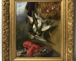 Tablou cu natura moarta Carlsen, Still Life, Oil on Canvas