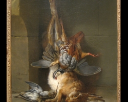 Tablou cu natura moarta Still Life by Jean-Baptiste Oudry