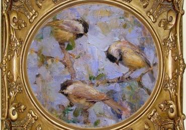 Tablou cu pasari galbene, tablou cu canari, tablou cu animale salbatice, tablouri cu an