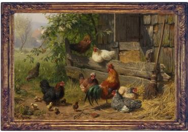 Tablou cu pasari, tablou cupasari salbatice, tablouri cu animale pictate, tablouri cu pa