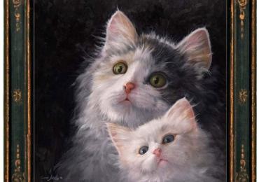 Tablou cu pisici, tablou cu animale de companie, tablou cu animale salbatice, tablour