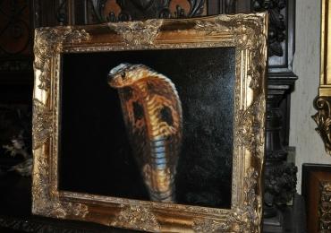 Tablou cu sarpe, tablou cu animale salbatice, tablouri cu animale pictate, tablouri cu