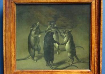 Tablou cu soareci, tablou cu animale salbatice, tablouri cu animale pictate, tablouri c