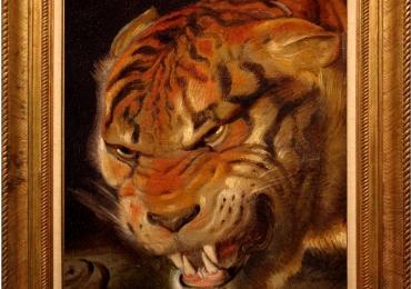 Tablou cu tigru, tablou cu animale salbatice, tablou cu animale exotic
