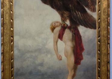 Tablou mitologia greaca, tablou cu vultur, tablou cu animale salbatice, tablouri cu ani