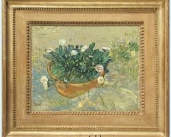 Tablou natura moarta VINCENT VAN GOGH , Daisies, Arles, Summer, 1888