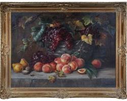Tablou natura moarta, tablou natura statica, Beautiful Still Life Painting, Early 20th Century